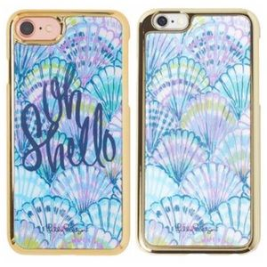 LILLY PULITZER Oh Shello Holographic iPhone Case